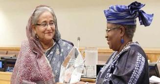 'ভ্যাকসিন হিরো' পুরস্কার দেশবাসীকে উৎসর্গ করলেন প্রধানমন্ত্রী