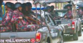 সিটি নির্বাচন: নিরাপত্তার চাদরে রাজধানী