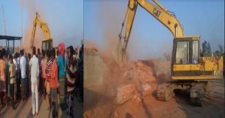 গাজীপুরে ৫টি অবৈধ ইটভাটাকে ১০ লাখ টাকা জরিমানা