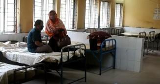 করোনা আতঙ্কে রোগীশূন্য শেরপুর জেলা হাসপাতাল