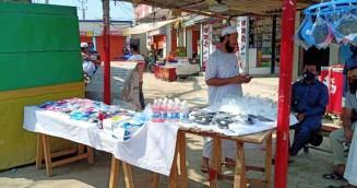 নরসিংদীতে বাজার সয়লাব নকল হ্যান্ড স্যানিটাইজারে