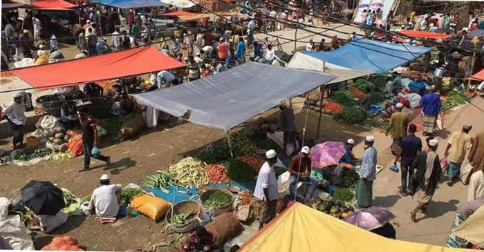 কলাপাড়ায় হাট-বাজার বন্ধ ঘোষণা