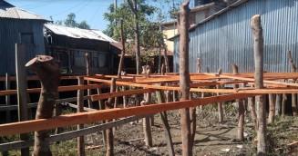 কলাপাড়ায় পানি উন্নয়ন বোর্ডের জমি দখল করে বিক্রির অভিযোগ