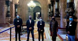 স্পেনে মূলধারার রাজনীতিতে বাংলাদেশি রাসেল হাওলাদার